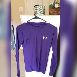 Under armour fitted moisture wicking Long sleeve